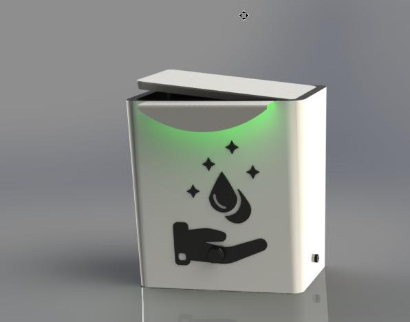 دستگاه اتوماتیک ضدعفونی کننده دست سیدا الکترونیک